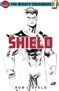[Mighty Crusaders: The Shield (Cover G Liefeld Sketch) (One Shot) (Product Image)]