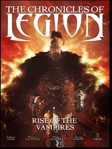 [Chronicles Of Legion: Rise Of The Vampires (Hardcover) (Product Image)]