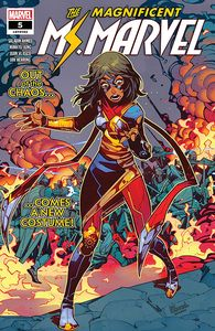 [Magnificent Ms Marvel #5 (Product Image)]