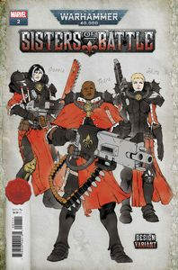 [Warhammer 40k: Sisters Of Battle #2 (Salazar Design Variant) (Product Image)]