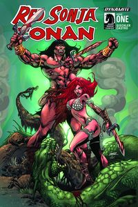 [Red Sonja/Conan #1 (Cover C Exclusive Subscription Cover) (Product Image)]