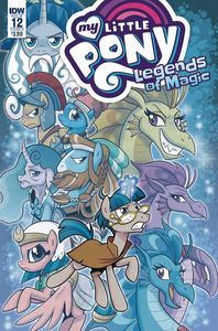 [My Little Pony: Legends Of Magic #12 (Cover B Hickey) (Product Image)]