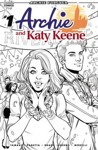 [The cover for Archie: Archie & Katy Keene: Part 1 #710 (Cover A Braga)]