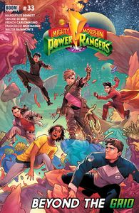 [Mighty Morphin Power Rangers #33 (Main Sg) (Product Image)]