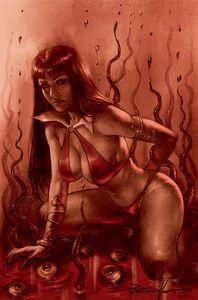[Vampirella #17 (Parrillo Tint Virgin Variant) (Product Image)]