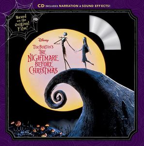 [Tim Burton's: The Nightmare Before Christmas (Read-Along - Book & CD) (Product Image)]