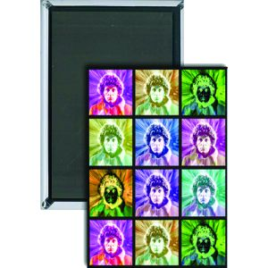 [Doctor Who: Magnet: PSYCHEDELIC 4th Doctor (Product Image)]