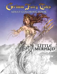 [Grimm Fairy Tales: Adult Colouring Book: The Little Mermaid (Product Image)]