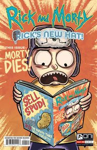 [Rick & Morty: Rick's New Hat #4 (Cover A Stresing) (Product Image)]