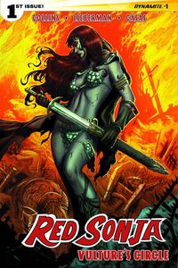 [Red Sonja: Vulture's Circle #1 (Cover B Geovani) (Product Image)]