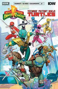 [Power Rangers/Teenage Mutant Ninja Turtles #1 (Cover A Mora) (Product Image)]