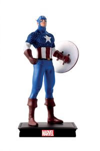 [Marvel Universe: Figurine Collection #8: Captain America (Product Image)]