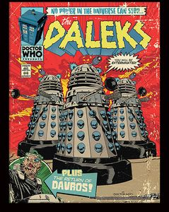 [Doctor Who: Framed Print: The Daleks (Product Image)]
