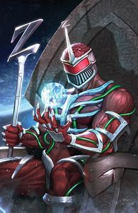 [Mighty Morphin #9 (Cover C Lee Virgin Variant) (Product Image)]