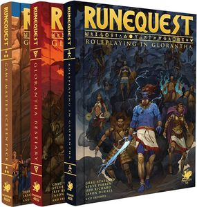 [Runequest: Roleplaying In Glorantha (Deluxe Slipcase Set Hardcover) (Product Image)]