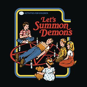 [Steven Rhodes: Let's Summon Demons (Product Image)]