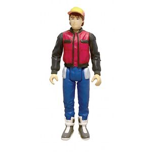 [Back To The Future Part II: ReAction Action Figure: Future Marty McFly (Product Image)]