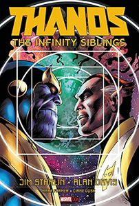 [Thanos: Infinity Siblings (Original Graphic Novel) (Hardcover) (Product Image)]