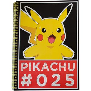 [Pokémon: A4 Notebook: Pikachu #025 (Product Image)]