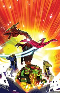 [Mighty Morphin #3 (Carlini Variant) (Product Image)]