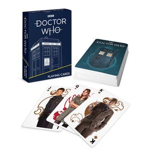 [Doctor Who: Playing Cards: Modern Era (Product Image)]