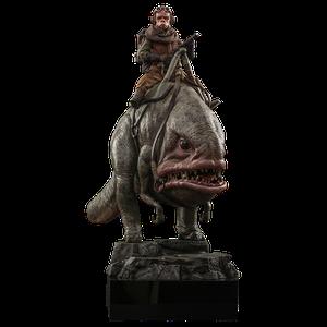 [Star Wars: The Mandalorian: Hot Toys Action Figure: Kuiil & Blurgg (Product Image)]