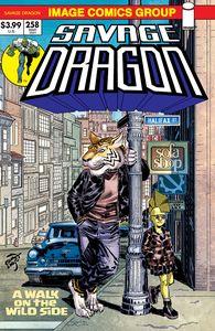 [Savage Dragon #258 (Cover B Retro 70s Trade Dress) (Product Image)]