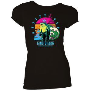 [The Suicide Squad: Women's Fit T-Shirt: King Shark (Product Image)]