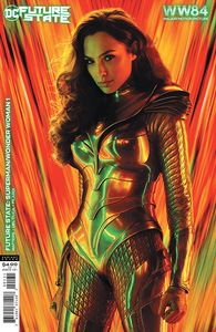 [Future State: Superman/Wonder Woman #1 (Cover C Wonder Woman 1984 Movie Poster Card Stock Variant) (Product Image)]