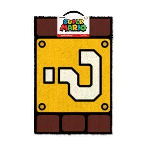 [Super Mario: Door Mat: Question Mark Block (Product Image)]
