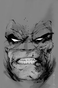 [DC: Dark Knight III: Large Giclee Print: Batman (Jock Signed & Numbered  Limited Edition) (Product Image)]