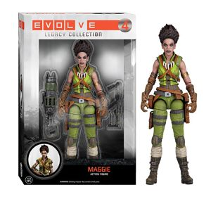 [Evolve: Legacy Collection Action Figures: Maggie (Product Image)]