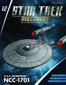 [Star Trek: Discovery: Figure Magazine #12: USS Enterprise NCC-1701 (Product Image)]
