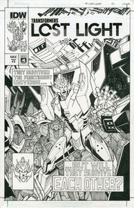 [Transformers: Lost Light #13 (Cover C Artist Edition Milne) (Product Image)]
