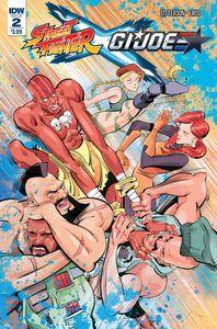 [Street Fighter X/GI Joe #2 (Product Image)]