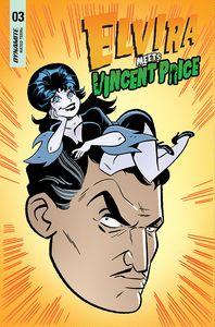 [Elvira Meets Vincent Price #3 (Cover C Marques & Bone) (Product Image)]
