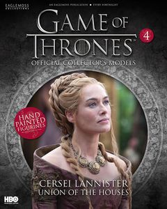 [Game Of Thrones: Model Collection Magazine #4 Cersei Lannister (Product Image)]