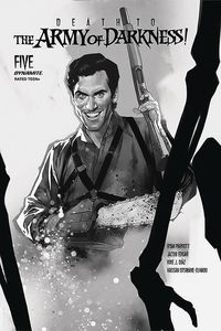 [Death To The Army Of Darkness #5 (Oliver Black & White Variant) (Product Image)]