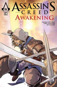 [Assassins Creed: Awakening #4 (Cover B Tong) (Product Image)]