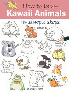 [How To Draw: Kawaii Animals In Simple Steps (Product Image)]