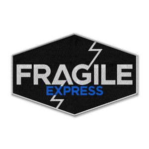 [Death Stranding: Sew On Patch: Fragile Express (Product Image)]