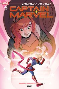 [Marvel Action: Captain Marvel #4 (Product Image)]
