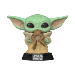 [Star Wars: The Mandalorian: Pop! Vinyl Figure: The Child With Frog (Product Image)]