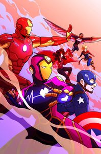 [Marvel Action: Avengers #2 (Cover A Reyner) (Product Image)]