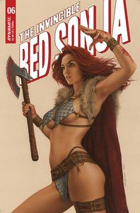 [Invincible Red Sonja #6 (Cover C Celina) (Product Image)]
