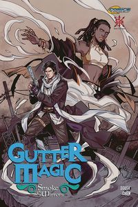 [The cover for Gutter Magic: Smoke & Mirrors #1]