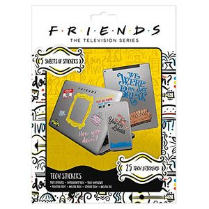 [Friends: Stickers: How You Doin' (Product Image)]