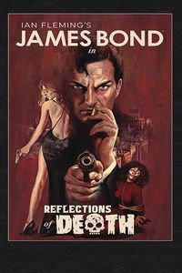 [James Bond: Reflections Of Death (Hardcover Signed Edition) (Product Image)]