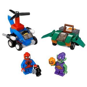 [Marvel: Lego Superheroes: Mighty Micros: Spider-Man Vs Green Goblin (Product Image)]