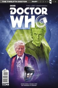 [Doctor Who: 12th Doctor: Year Three #8 (Cover B Photo) (The Lost Dimension) (Product Image)]